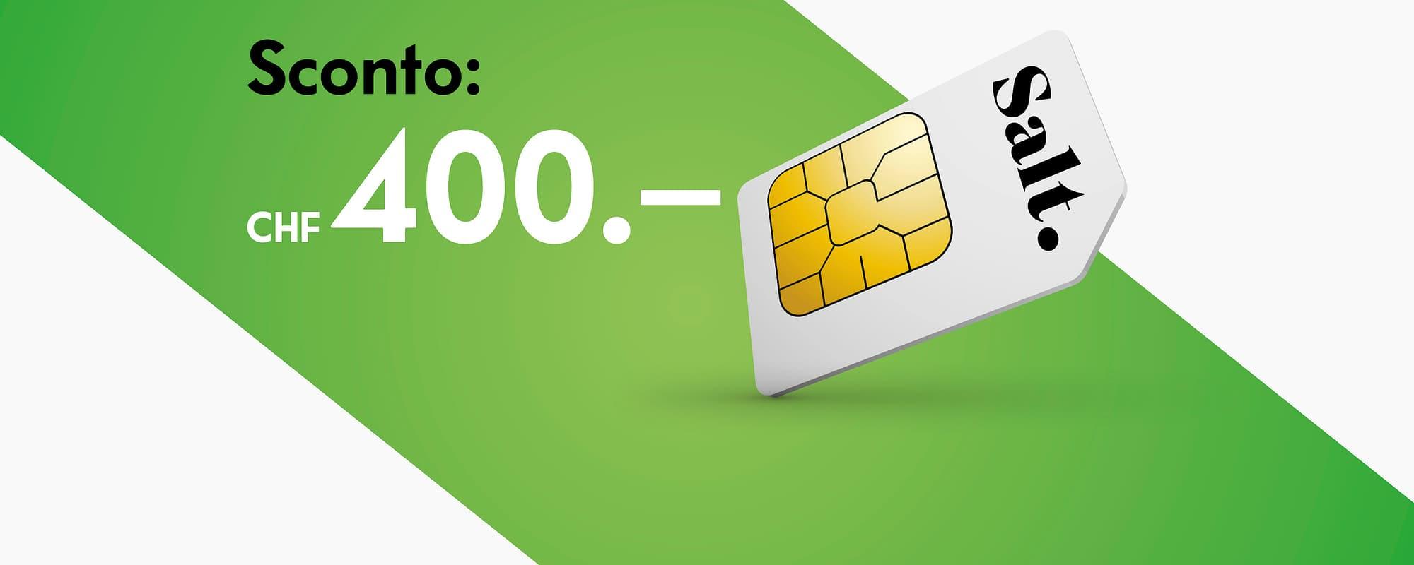 Più CHF 100.00 rimborso