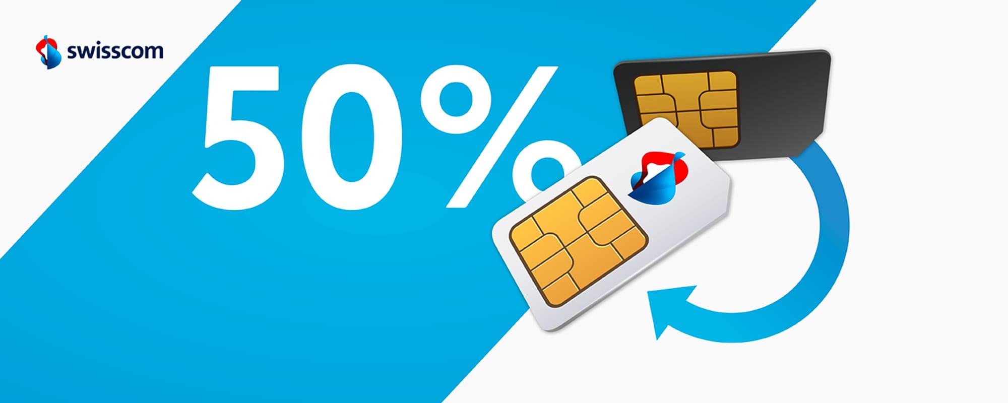 Swisscom Prepaid to Postpaid