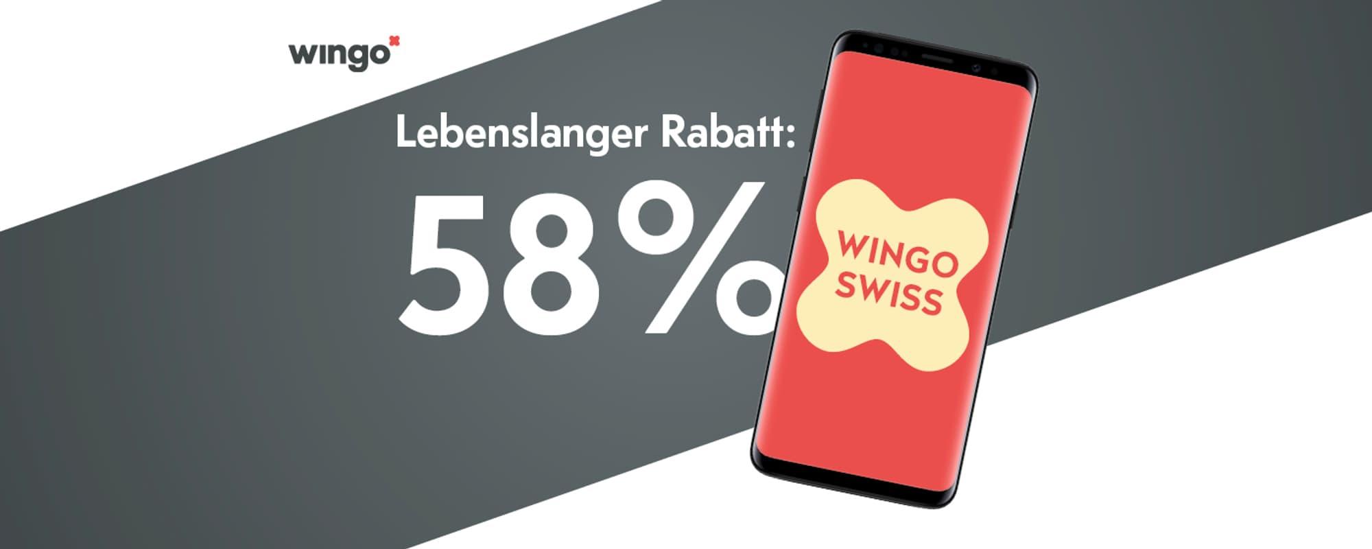 58% Rabatt