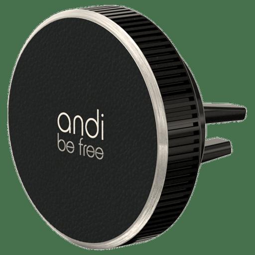 Image of Andi Be Free Wireless Ladegerät Lüftung 15W Schwarz Schwarz