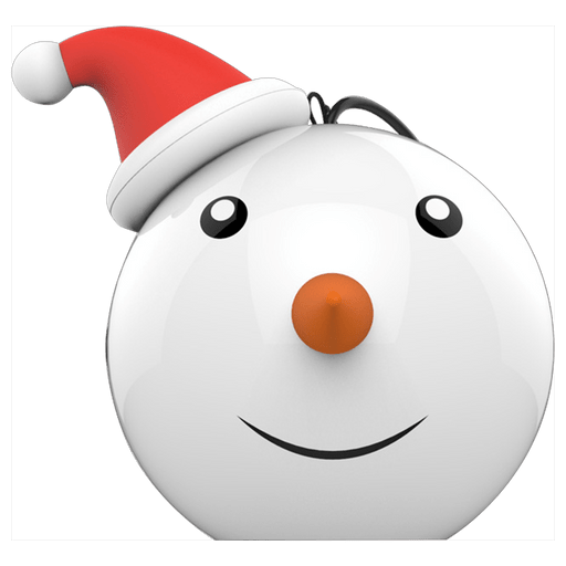 Image of Celly Winter Special Snowman Mini Bluetooth Lautsprecher White