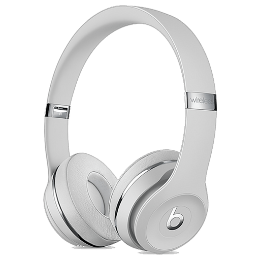 Image of Beats Solo3 Wireless On-Ear Headset Satin Silver Satin Silver