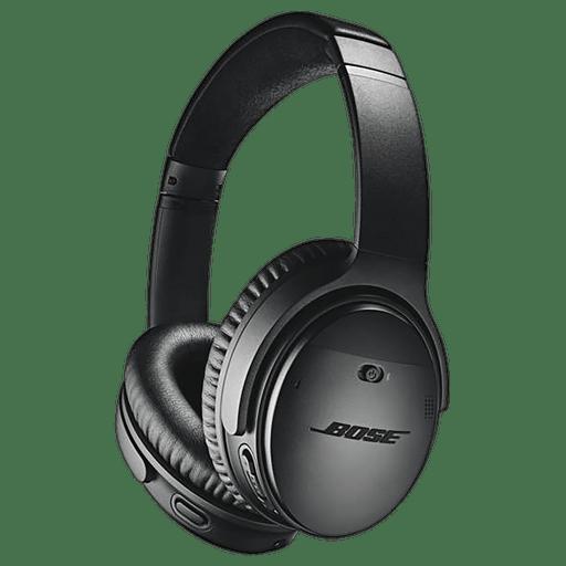 Image of Bose QuietComfort 35 II Bluetooth Over-Ear Kopfhörer Schwarz Schwarz