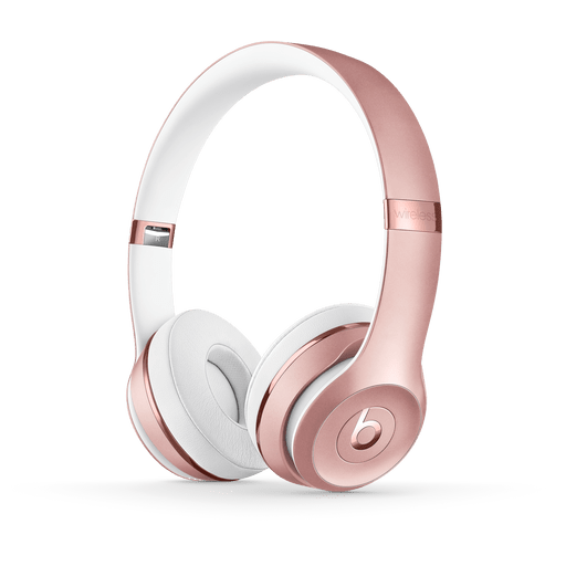 Image of Beats Solo 3 Wireless On-Ear Headset Rose Gold Rose Gold