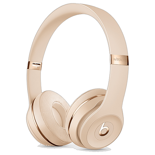 Image of Beats Solo3 Wireless On-Ear Headset Satin Gold Satin Gold