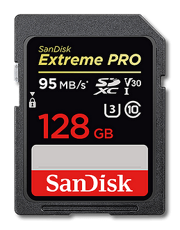 SanDisk Extreme Pro SD Card 128GB