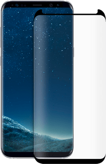 Eiger Samsung Galaxy S8 plus screenprotect 3D Glas