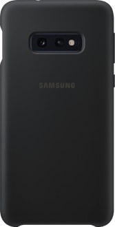 Samsung Galaxy S10 E Silicon Backcover black