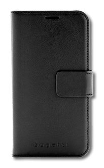 bugatti iPhone XR Book Case Leather black