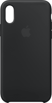 Apple iPhone X/Xs Silicone Backcover black