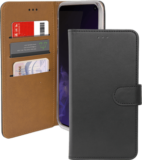 itStyle Galaxy S10 E Premium Book Case black