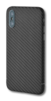 itStyle iPhone XR Carbon Edition Backcover black