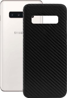 itStyle Galaxy S10 Carbon Edition Backcover black