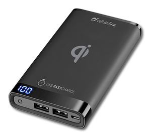 cellularline Power Bank Wireless 8000 mAh black
