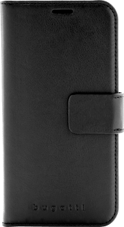 bugatti iPhone Xs Max Book Case Leather black