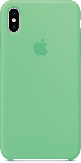 Apple iPhone XS Max Silicon Backcover Mint