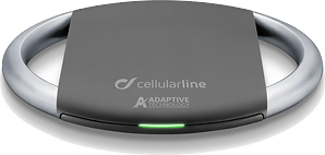 cellularline Wireless Charger Plate Fast black