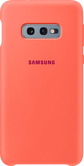 Samsung Galaxy S10 E Silicon Backcover coral