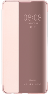 Huawei P30 View Flip Cover pink