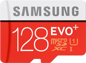 Samsung Evo Plus microSDXC Class 128GB