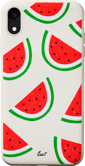 LAUT iPhone XR Backcover Tutti Frutti Watermelon