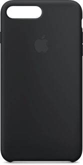 Apple iPhone 7/8 Plus NEW Silicon Backcover black