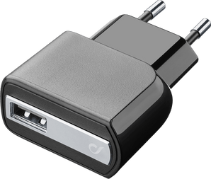 cellularline Charger 220V USB without cable black