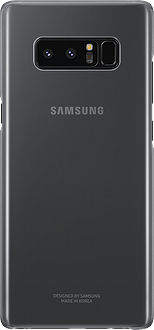 Samsung Galaxy Note8 Clear Backcover black