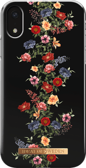 iDeal of Sweden iPhone XR Backcover dark floral