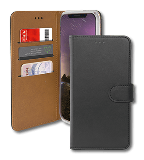 itStyle iPhone XR Premium Book Case black