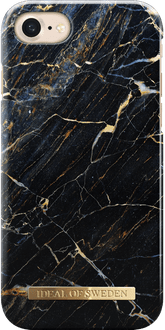iDeal of Sweden iPhone 7/8 Cover Marble Black