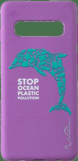Wilma Galaxy S10 Eco-Friendly Cover Dolphin Purple