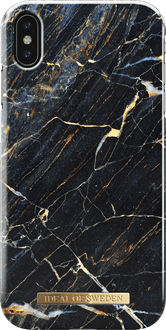 iDeal of Sweden iPhone Xs Max Cover Marble Black