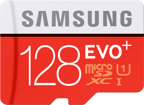Samsung micro SDXC Evo+ 128GB Smart Switch Promo