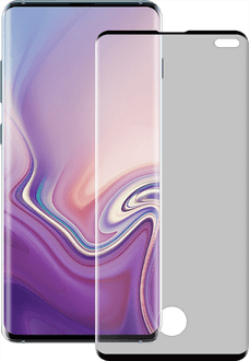 Eiger Galaxy S10 Plus screenproter 3D Glas black
