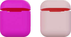 itStyle Airpods Silicon Case Set Pink/Rose