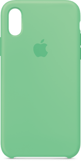 Apple iPhone X/XS Silicon Backcover Mint