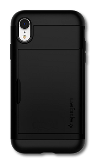 Spigen iPhone XR Slim Armor Cover black