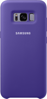 Samsung Galaxy S8 plus Silicon Backcover violet