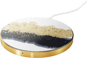 iDeal of Sweden Wireless Charging Plate Black/Gold