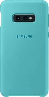 Samsung Galaxy S10 E Silicon Backcover green