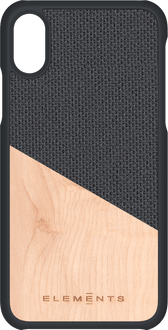 Nordic Elements iPhone X/Xs Backcover Wood black