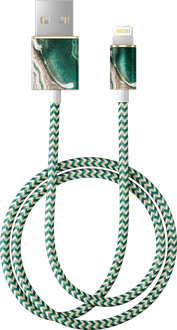 iDeal of Sweden Data Cable Lightning 1m Marble Green