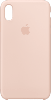 Apple iPhone Xs Max Silicon Backcover pink sand