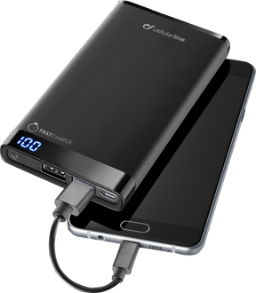 cellularline Power Bank Manta 12000 mAh fast charge