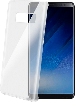 Celly Galaxy Note8 Gelskin TPU Backcover transparent