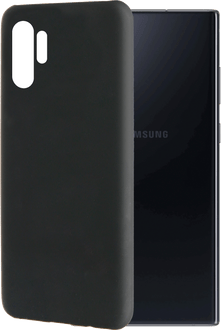 itStyle Galaxy Note10+ Backcover Rubberstyle black