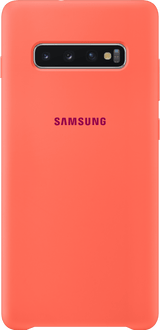 Samsung Galaxy S10 Plus Silicon Backcover coral
