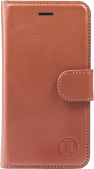 JT Berlin iPhone 7/8 Book Case Leather cognac