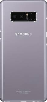 Samsung Galaxy Note8 Clear Backcover orchid gray